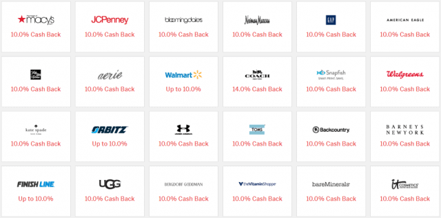 Ebates review - store cash back