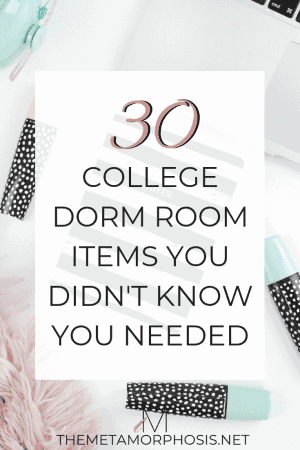 30 college dorm room items you didn't know you needed
