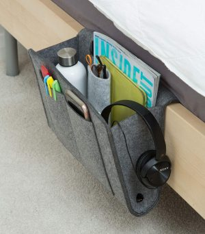 dorm storage ideas bedside caddy