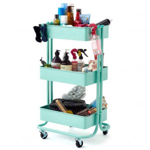 dorm storage ideas cart