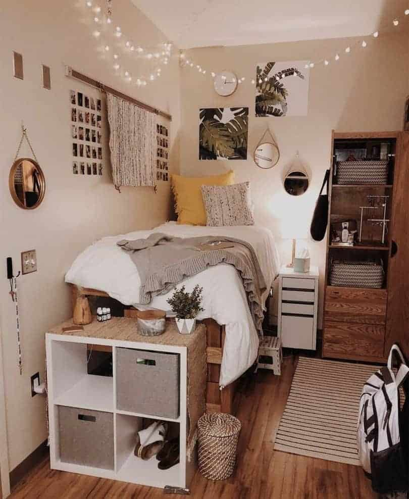dorm room ideas - boho aesthetic