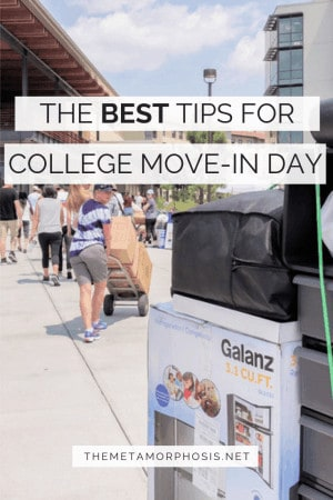 The Best Tips for College Move-In Day