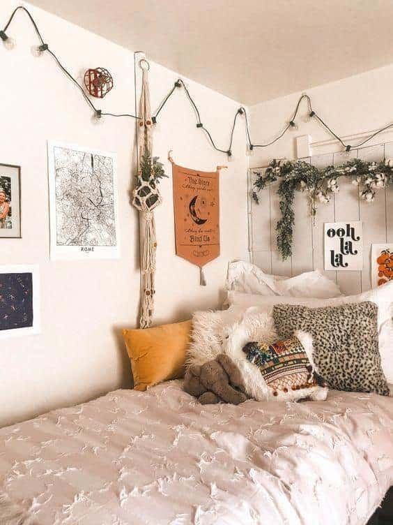 boho dorm room ideas