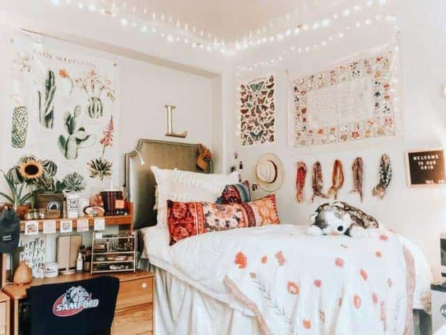 dorm room wall decor - bohemian