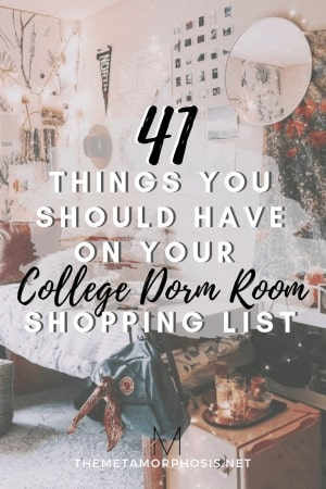 dorm room must haves