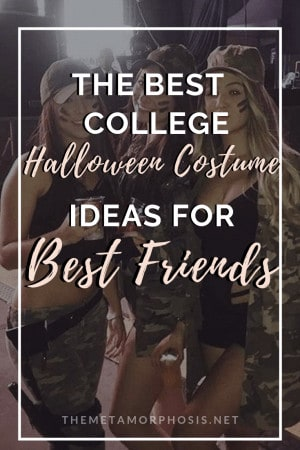 Best Friend Halloween Costume Ideas for College Students