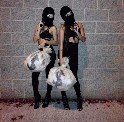 burglars best friend costume