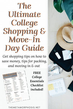 college dorm essentials and move in day guide