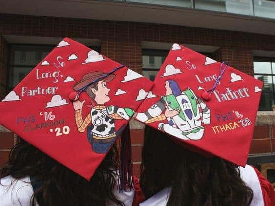 best friends graduation cap ideas 2020