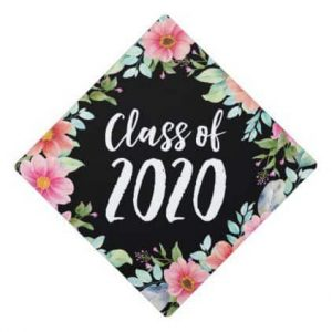class of 2020 grad cap ideas