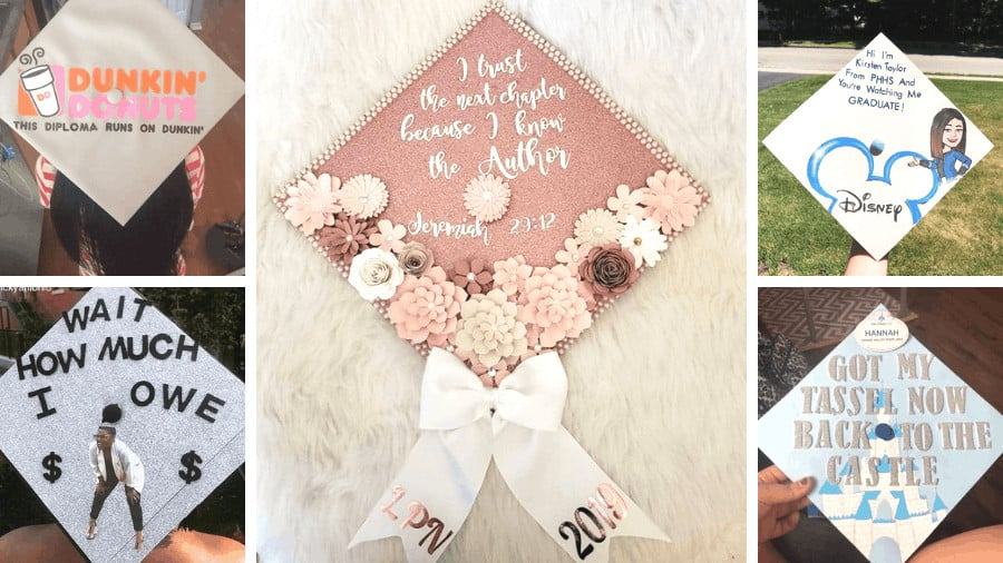 college graduation cap ideas for 2020