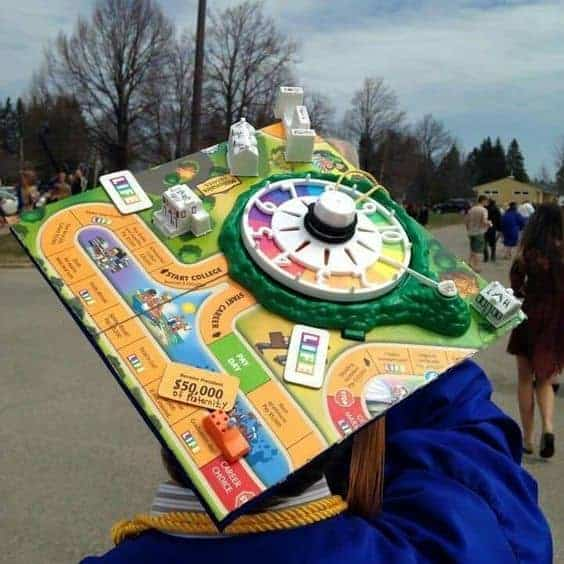 creative diy graduation cap design