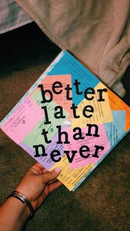 funny college graduation cap ideas