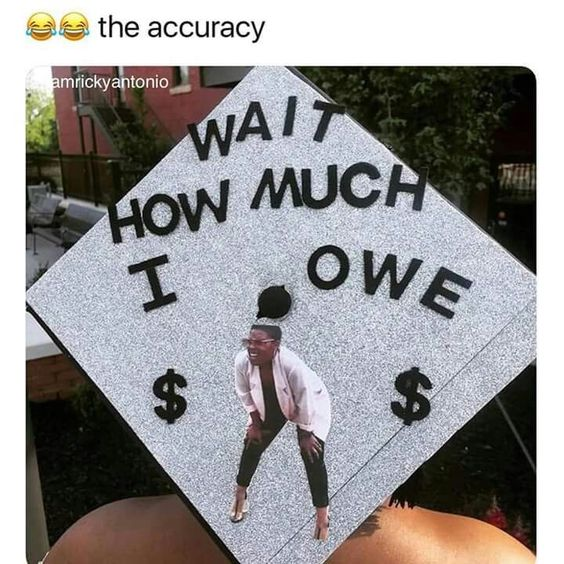 funny graduation cap design 2020