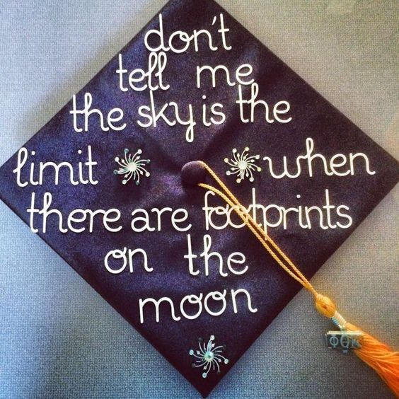 great graduation cap designs