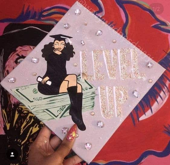 level up graduation cap ideas