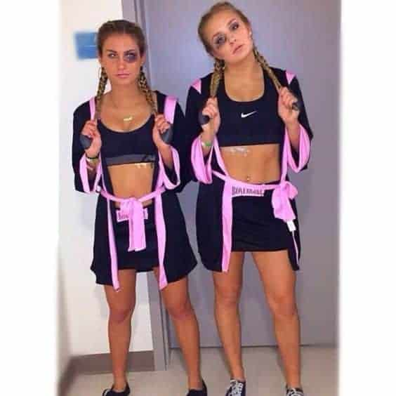 boxer college halloween costumes for girls